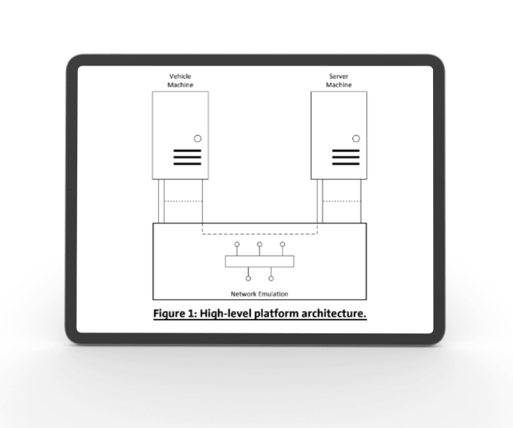 Transport protocols emulation system architecture